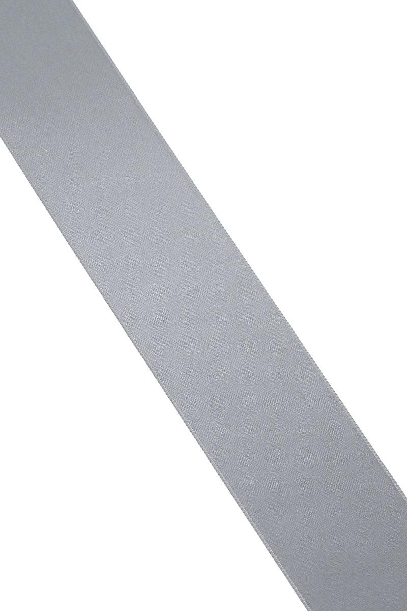 Лента атласная Prym, цвет: серый, ширина 38 мм, длина 25 м695806_2Атласная лента Prym изготовлена из 100% полиэстера. Область применения атласной ленты весьма широка. Изделие предназначено для оформления цветочных букетов, подарочных коробок, пакетов. Кроме того, она с успехом применяется для художественного оформления витрин, праздничного оформления помещений, изготовления искусственных цветов. Ее также можно использовать для творчества в различных техниках, таких как скрапбукинг, оформление аппликаций, для украшения фотоальбомов, подарков, конвертов, фоторамок, открыток и многого другого.Ширина ленты: 38 мм.Длина ленты: 25 м.