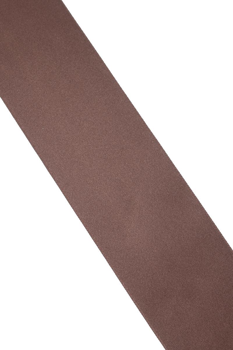 Лента атласная Prym, цвет: шоколадный, ширина 50 мм, длина 25 м695807_23Атласная лента Prym изготовлена из 100% полиэстера. Область применения атласной ленты весьма широка. Изделие предназначено для оформления цветочных букетов, подарочных коробок, пакетов. Кроме того, она с успехом применяется для художественного оформления витрин, праздничного оформления помещений, изготовления искусственных цветов. Ее также можно использовать для творчества в различных техниках, таких как скрапбукинг, оформление аппликаций, для украшения фотоальбомов, подарков, конвертов, фоторамок, открыток и многого другого.Ширина ленты: 50 мм.Длина ленты: 25 м.