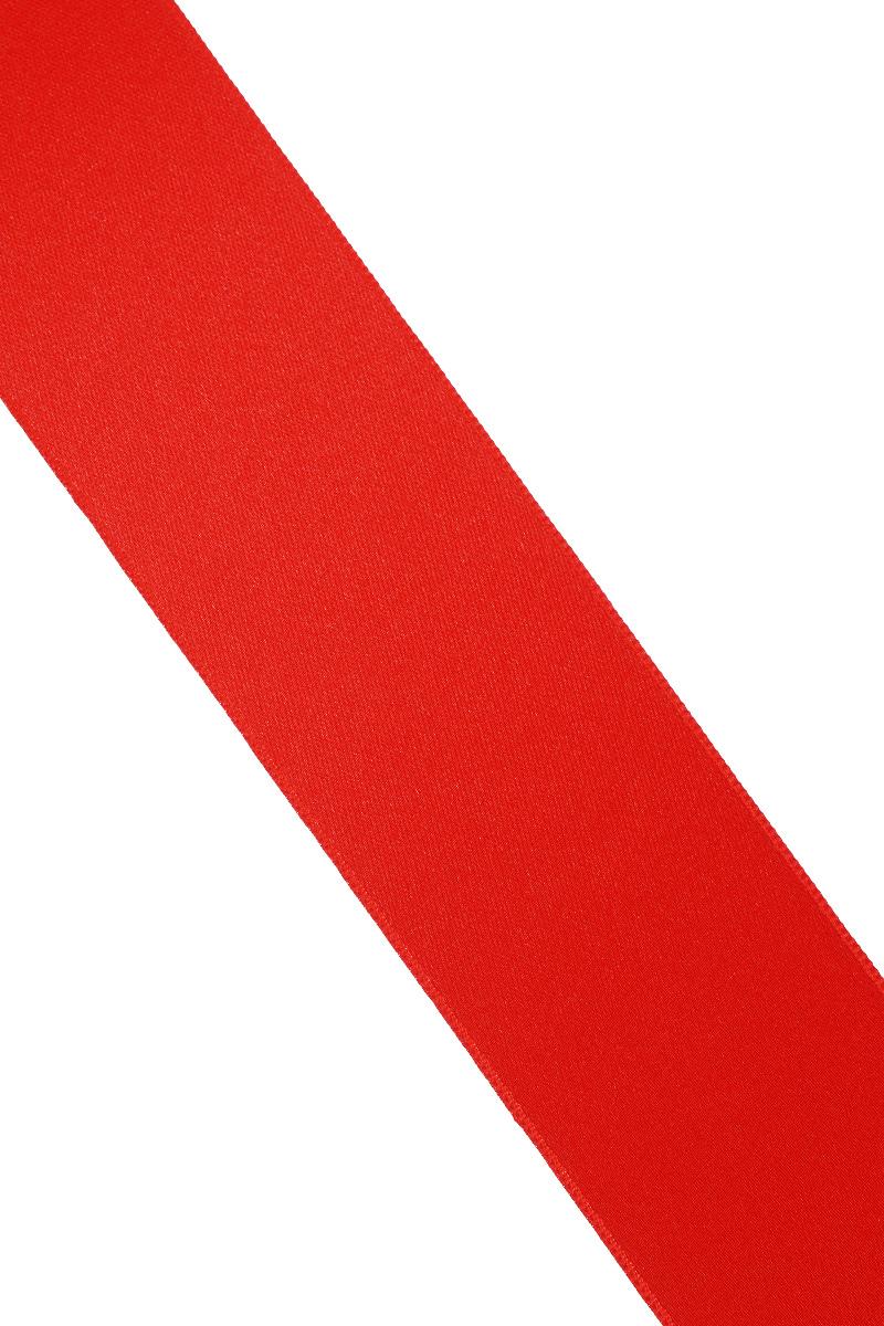 Лента атласная Prym, цвет: красный, ширина 38 мм, длина 25 м695806_71Атласная лента Prym изготовлена из 100% полиэстера. Область применения атласной ленты весьма широка. Изделие предназначено для оформления цветочных букетов, подарочных коробок, пакетов. Кроме того, она с успехом применяется для художественного оформления витрин, праздничного оформления помещений, изготовления искусственных цветов. Ее также можно использовать для творчества в различных техниках, таких как скрапбукинг, оформление аппликаций, для украшения фотоальбомов, подарков, конвертов, фоторамок, открыток и многого другого.Ширина ленты: 38 мм.Длина ленты: 25 м.