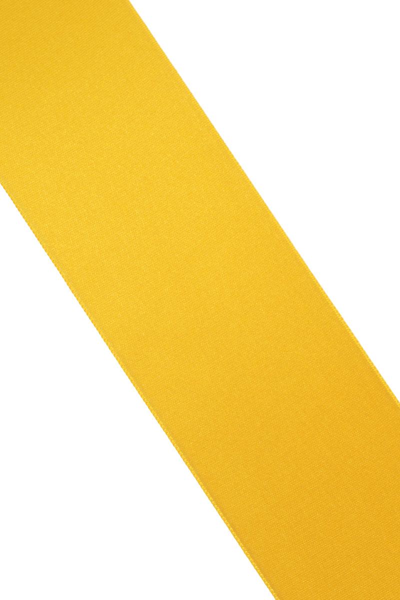 Лента атласная Prym, цвет: золотистый, ширина 50 мм, длина 25 м695807_20Атласная лента Prym изготовлена из 100% полиэстера. Область применения атласной ленты весьма широка. Изделие предназначено для оформления цветочных букетов, подарочных коробок, пакетов. Кроме того, она с успехом применяется для художественного оформления витрин, праздничного оформления помещений, изготовления искусственных цветов. Ее также можно использовать для творчества в различных техниках, таких как скрапбукинг, оформление аппликаций, для украшения фотоальбомов, подарков, конвертов, фоторамок, открыток и многого другого.Ширина ленты: 50 мм.Длина ленты: 25 м.