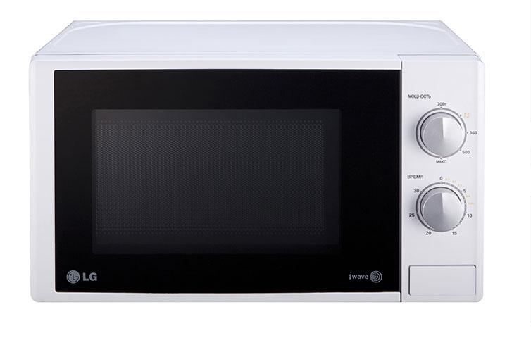 LG MS-2022DS СВЧ-печь lg lg ms 2342bs серебристый 800вт 23л