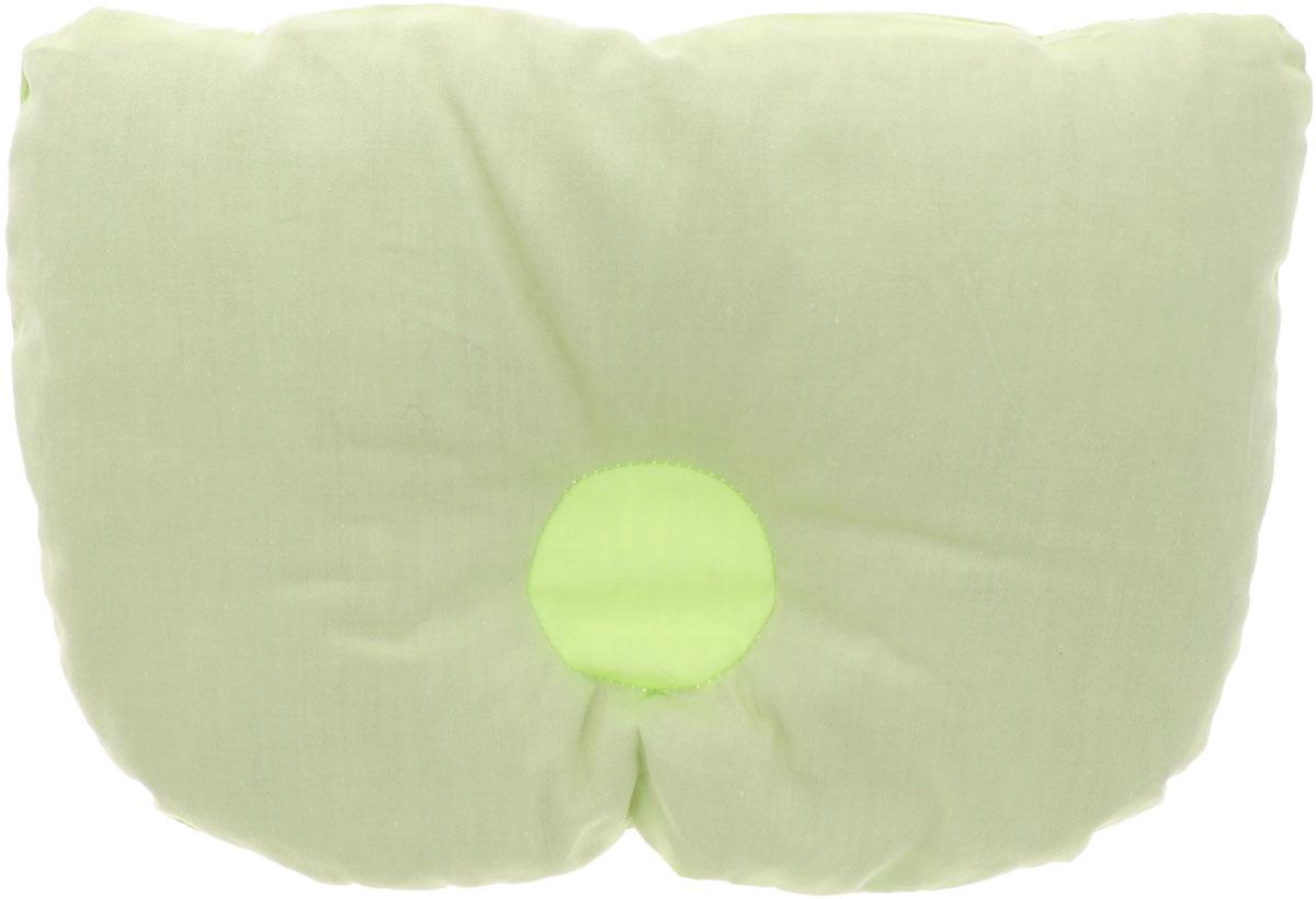 Био-подушка из лузги гречихи Тюльпанчик цвет салатовый 20 см х 30 смPG0034_салатовыйОртопедическая Био-подушка для новорожденных детей Тюльпанчик анатомической формы поддерживает голову и шею ребенка в фиксированном положении.Незаменима для детей, страдающих аллергией. Лузга в подушке целая и чистая, не содержит пыли и других примесей. В ней нет среды для обитания паразитов, а значит, нет и самих паразитов. Подушка имеет еще один замечательный эффект - естественную вентиляцию. Каждая лузга-пирамидка полая внутри, за счет чего в подушке свободно циркулируют воздушные потоки. Подушка поможет в формировании симметричной овальной формы головы, формированию правильного изгиба шейного позвонка, снизит гепертонус мышц шеи, плечевого пояса, эфирное масло рутин успокоит нервную систему.А в самую жаркую ночь ребенок чувствует свежесть и прохладу, его голова не потеет! Подушка поставляется в удобном пластиком чехле на застежке-молнии.