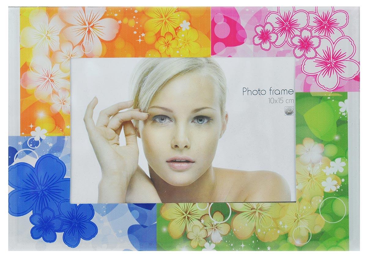 Фоторамка Pioneer Assorted. Разноцветные цветы, 10 х 15 см16868JS2011-334/335/336/3_синий, оранжевый, розовый, салатовыйФоторамка Pioneer Assorted. Разноцветные цветы выполненаиз высококачественного стекла, защищающего фотографию.Изделие оформлено изысканным рисунком. Оборотная сторонарамки оснащена специальной ножкой, благодаря которой ееможно поставить на стол или любое другое место в доме илиофисе.Такая фоторамка поможет вам оригинально истильно дополнить интерьер помещения, а также позволитсохранить память о дорогих вам людях и интересных событияхвашей жизни.