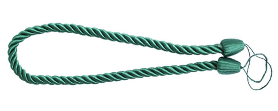 Подхват для штор Goodliving Шнур, цвет: зеленый (39), 2 шт7711742_39 зеленыйПодхват для штор Goodliving Шнур выполнен в виде витого шнура, на обоих концах которого имеются петли для крепления подхвата на крючок.Подхват - это основной вид фурнитуры в декоре штор, сочетающий в себе не только декоративную функцию, но и практическую - регулировать поток света. Подхваты способны украсить любую комнату.Длина подхвата: 52 см. Диаметр подхвата: 1,5 см.