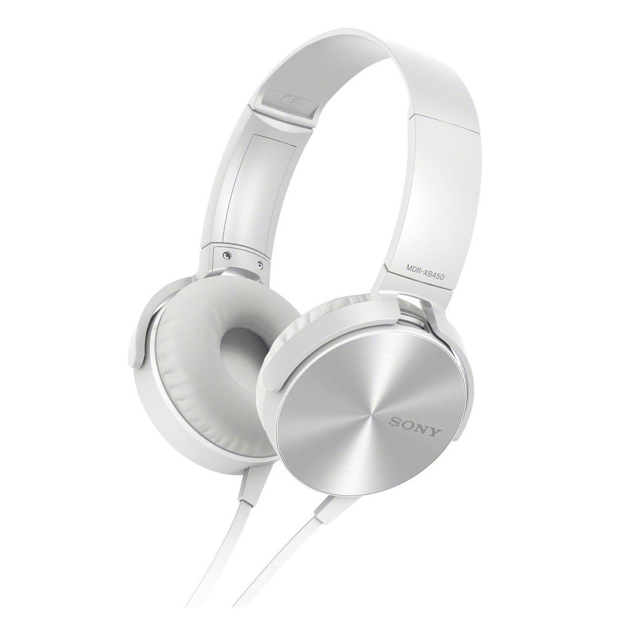 Sony MDR-XB450AP, White наушники цена sony a850