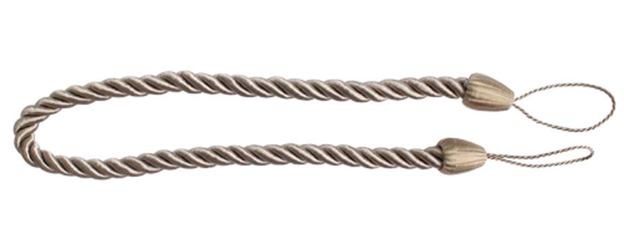 Подхват для штор Goodliving Шнур, цвет: латте (34), 2 шт546236_7 бежевыйПодхват для штор Goodliving Шнур выполнен ввиде витого шнура, на обоихконцах которого имеются петли для крепленияподхвата на крючок. Подхват - это основной вид фурнитуры в декорештор, сочетающий в себе не только декоративнуюфункцию, но и практическую - регулировать потоксвета. Подхваты способны украсить любуюкомнату. Длина подхвата: 52 см.Диаметр подхвата: 1,5 см.