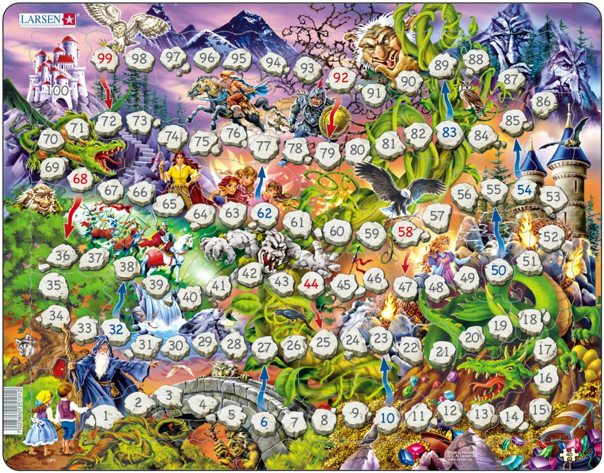 Larsen Пазл-игра Волшебное королевство arsstar настольная игра elfenland волшебное путешествие