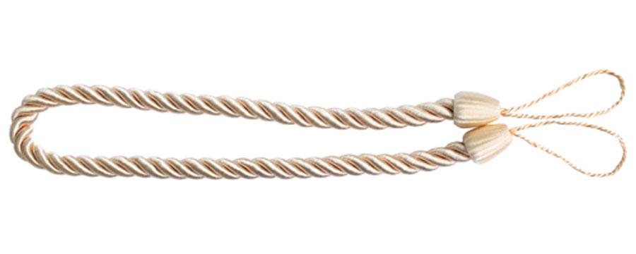 Подхват для штор Goodliving Шнур, цвет: розовато-бежевый (59), 2 шт7711742_59 розовато-бежевыйПодхват для штор Goodliving Шнур выполнен в виде витого шнура, на обоих концах которого имеются петли для крепления подхвата на крючок.Подхват - это основной вид фурнитуры в декоре штор, сочетающий в себе не только декоративную функцию, но и практическую - регулировать поток света. Подхваты способны украсить любую комнату.Длина подхвата: 52 см. Диаметр подхвата: 1,5 см.