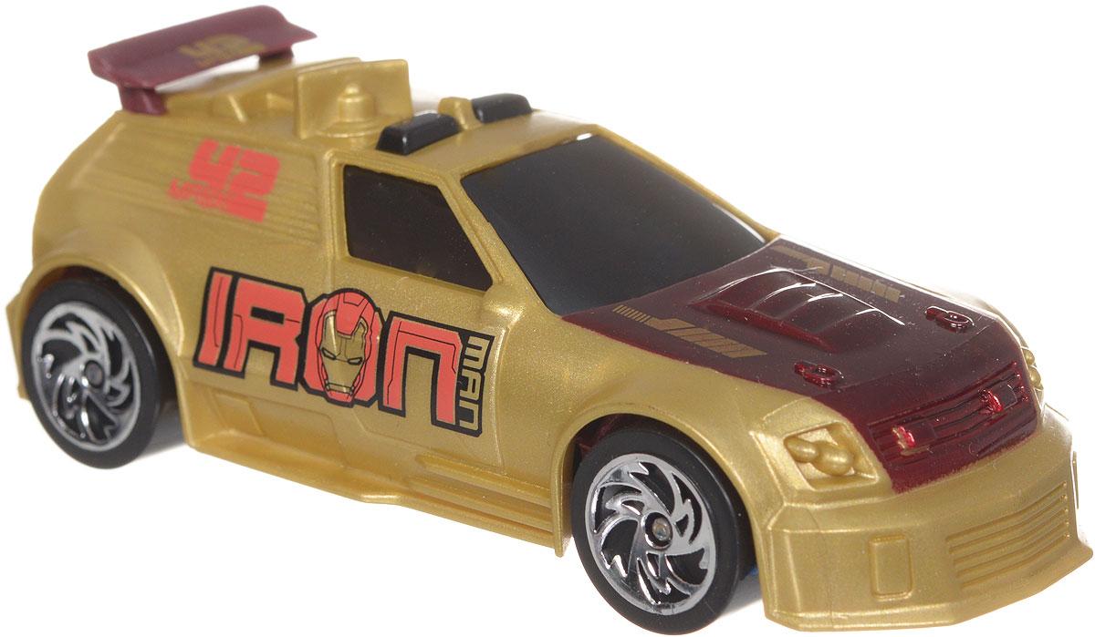 Majorette Машинка Железный человек 3 Mark 42 цвет золотистый majorette creatix игрушечный трек starter pack