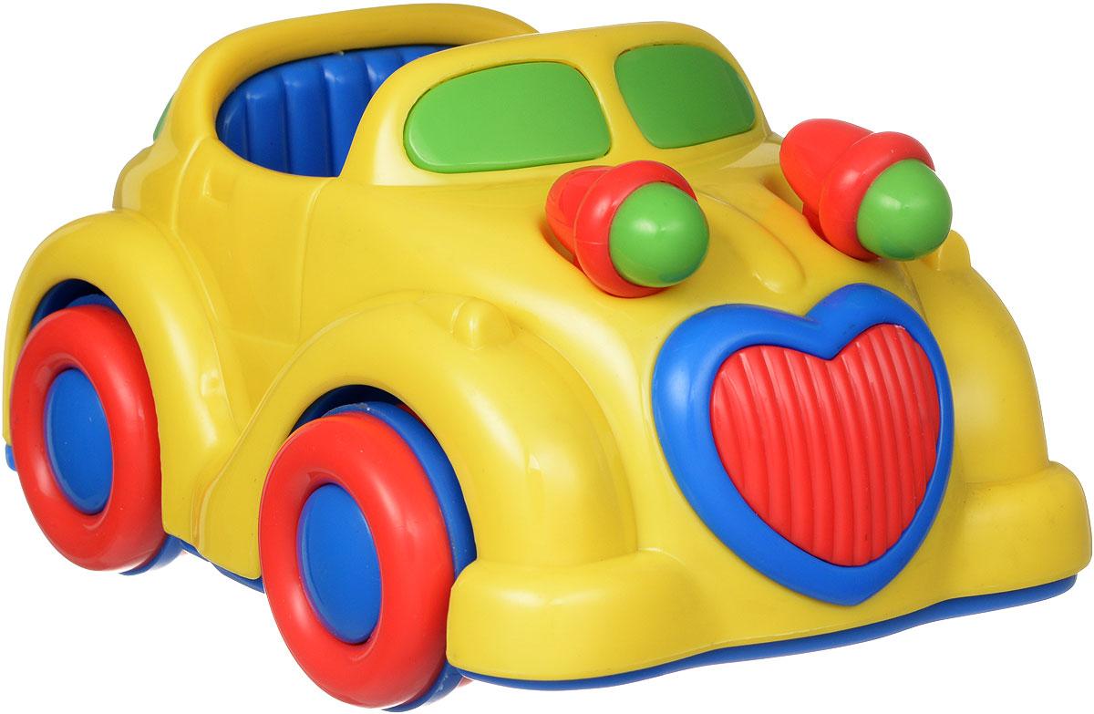 Simba Машинка инерционная цвет желтый simba паровоз инерционный цвет желтый
