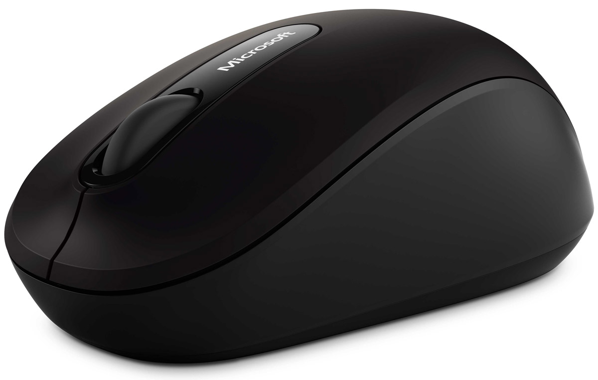Microsoft Bluetooth Mobile Mouse 3600, Black беспроводная мышь