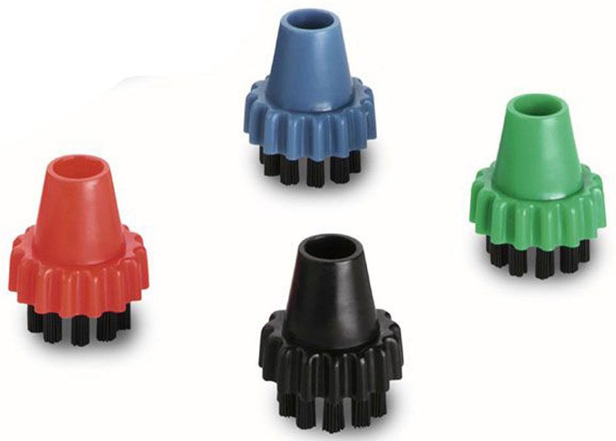 Karcher 28602310 для SV1802/1902 комплект насадок для пылесоса28602310Комплект круглых пластиковых щеток Karcher для SV1802/1902 в четырех цветах служит дляразличного применения. Щетки могут использоваться для чистки в ванной комнате, на кухнеи в других помещениях. Их можно применять для чистки по всему дому!Легкое удаление стойких загрязнений Щетина устойчива к стиранию