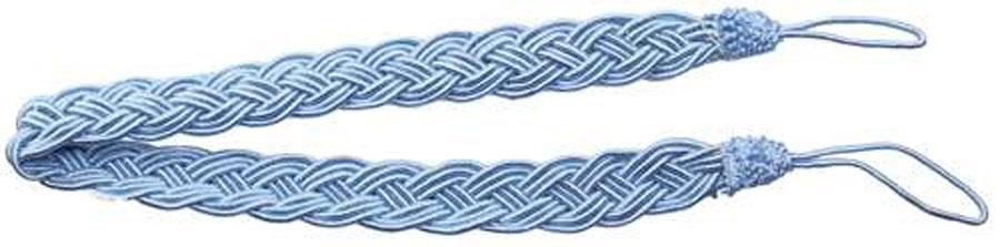 Подхват для штор Goodliving Коса, цвет: голубой, длина 65 см, 2 шт142669_785 голубойПодхват для штор Goodliving Коса представляет собой плотный узор, плетеный в виде косы. Изделие оснащено петлями для фиксации штор, гардин и портьер. Подхват - это основной вид фурнитуры в декоре штор, сочетающий в себе не только декоративную функцию, но и практическую - регулировать поток света. Такой аксессуар способен украсить любую комнату.Длина подхвата (с учетом петель): 65 см. Ширина подхвата: 2,5 см.