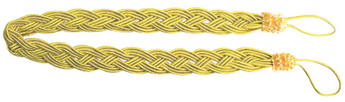 Подхват для штор Goodliving Коса, цвет: желтый (23), длина 62 см, 2 шт. 77117417711741_23 бледно-желтыйПодхват для штор Goodliving Коса представляет собой плотный узор, плетеный в виде косы. Изделие оснащено петлями для фиксации штор, гардин и портьер. Подхват - это основной вид фурнитуры в декоре штор, сочетающий в себе не только декоративную функцию, но и практическую - регулировать поток света. Такой аксессуар способен украсить любую комнату.Длина подхвата (с учетом петель): 62 см. Ширина подхвата: 2,5 см.