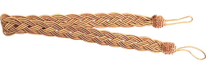 Подхват для штор Goodliving Коса, цвет: золотисто-коричневый (42), длина 62 см, 2 шт. 77117417711741_42 золотисто-бежевыйПодхват для штор Goodliving Коса представляет собой плотный узор, плетеный в виде косы. Изделие оснащено петлями для фиксации штор, гардин и портьер. Подхват - это основной вид фурнитуры в декоре штор, сочетающий в себе не только декоративную функцию, но и практическую - регулировать поток света. Такой аксессуар способен украсить любую комнату.Длина подхвата (с учетом петель): 62 см. Ширина подхвата: 2,5 см.