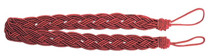 Подхват для штор Goodliving Коса, цвет: красный (15), длина 62 см, 2 шт. 77117417711741_15 красныйПодхват для штор Goodliving Коса представляет собой плотный узор, плетеный в виде косы. Изделие оснащено петлями для фиксации штор, гардин и портьер. Подхват - это основной вид фурнитуры в декоре штор, сочетающий в себе не только декоративную функцию, но и практическую - регулировать поток света. Такой аксессуар способен украсить любую комнату.Длина подхвата (с учетом петель): 62 см. Ширина подхвата: 2,5 см.