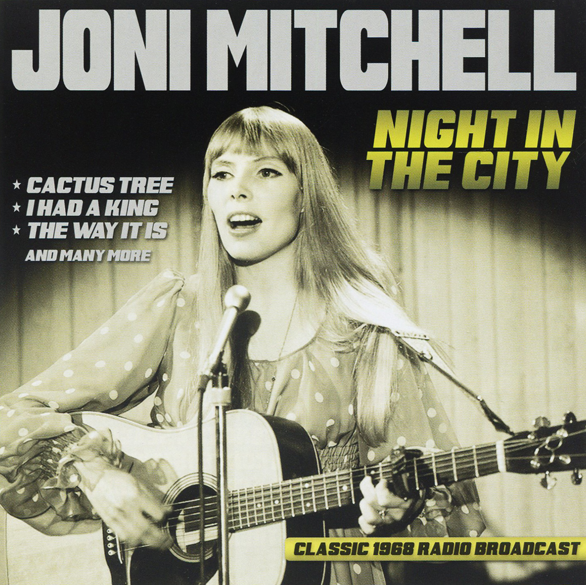 Joni Mitchell. Night In The City