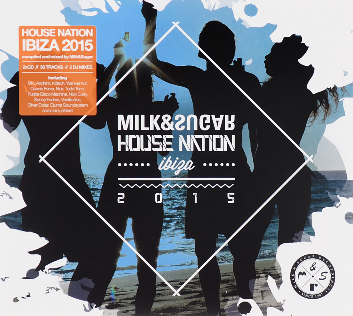 Milk & Sugar. House Nation Ibiza 2015 (2 CD)