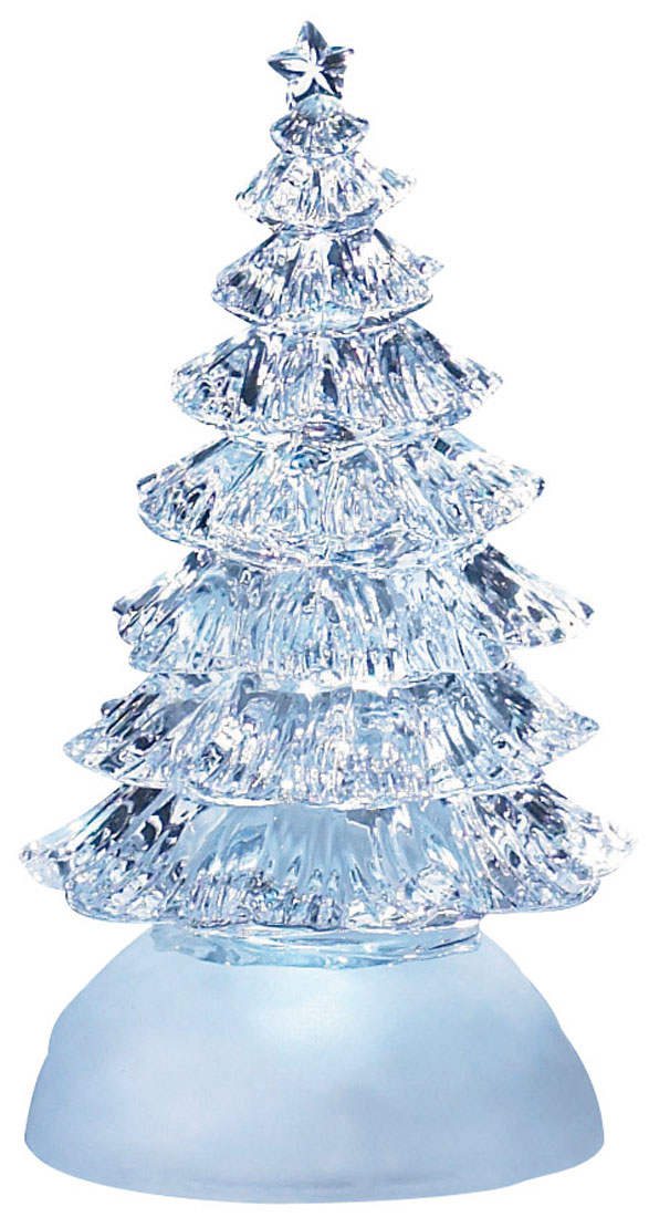 Новогодняя декоративная фигурка  Елка , с подсветкой -  Гирлянды и светильники