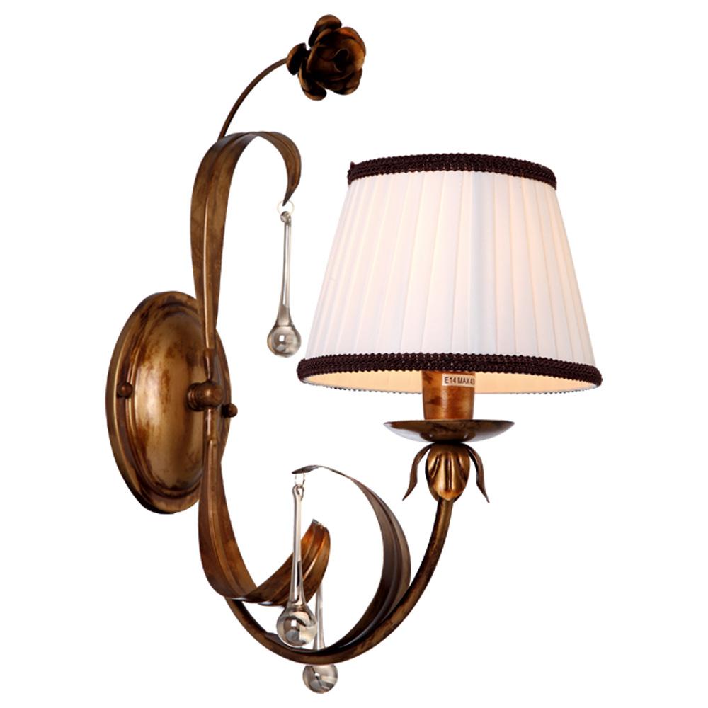 Светильник настенный Arte Lamp Borgia A8100AP-1GA a8100ap 1wg arte lamp