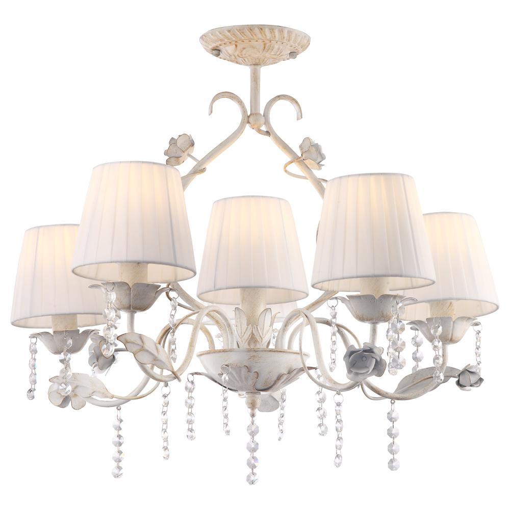 Светильник потолочный Arte Lamp KENNY A9514PL-5-1WG люстра на штанге arte lamp kenny a9514pl 5 1wg