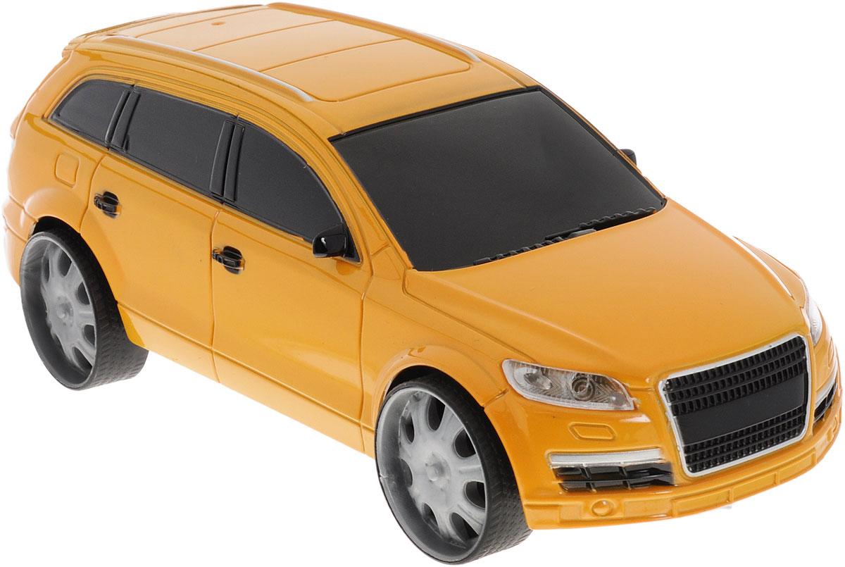 Пламенный мотор Машинка инерционная Автопарк цвет темно-желтый