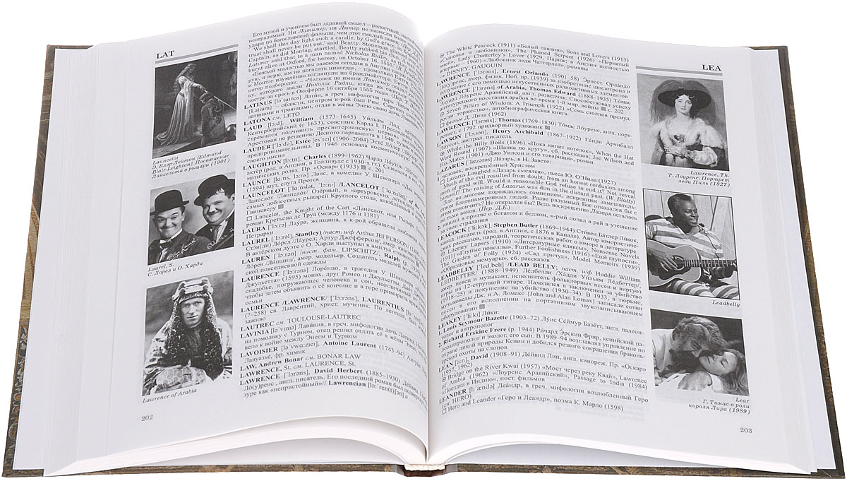 The Illustrated English-Russian Who's Who in Fact and Fiction / Иллюстрированный англо-русский словарь персоналий.