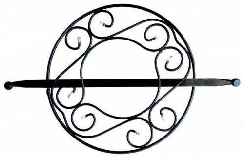 Заколка для штор Мир Мануфактуры, цвет: черный. 697021697021_2 черныйЗаколка для штор Мир Мануфактуры выполнена из металла и украшенапластиковыми бусинами. Заколка - это основной вид фурнитуры в декоре штор, сочетающий в себе не толькодекоративную функцию, но и практическую - регулировать поток света.Заколки способны украсить любую комнату. Диаметр декоративной части: 14,5 см. Длина палочки: 23 см.