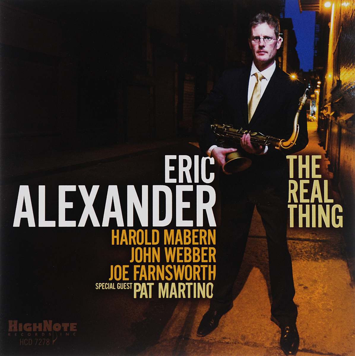 Eric Alexander. The Real Thing
