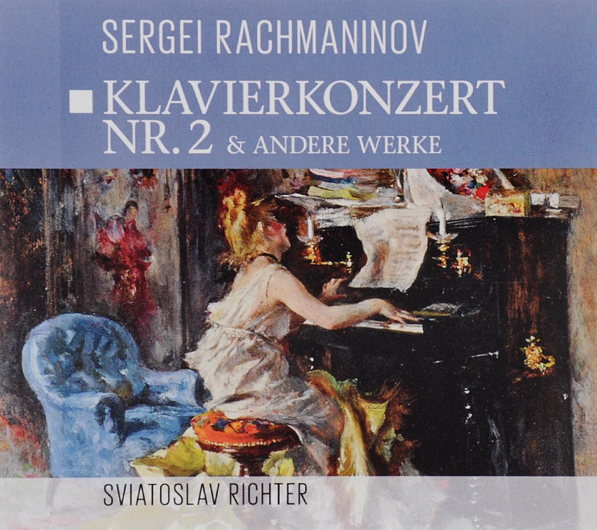Zakazat.ru Sviatoslav Richter. Sergei Rakhmaninov. Klavierkonzert Nr. 2 & Andere Werke