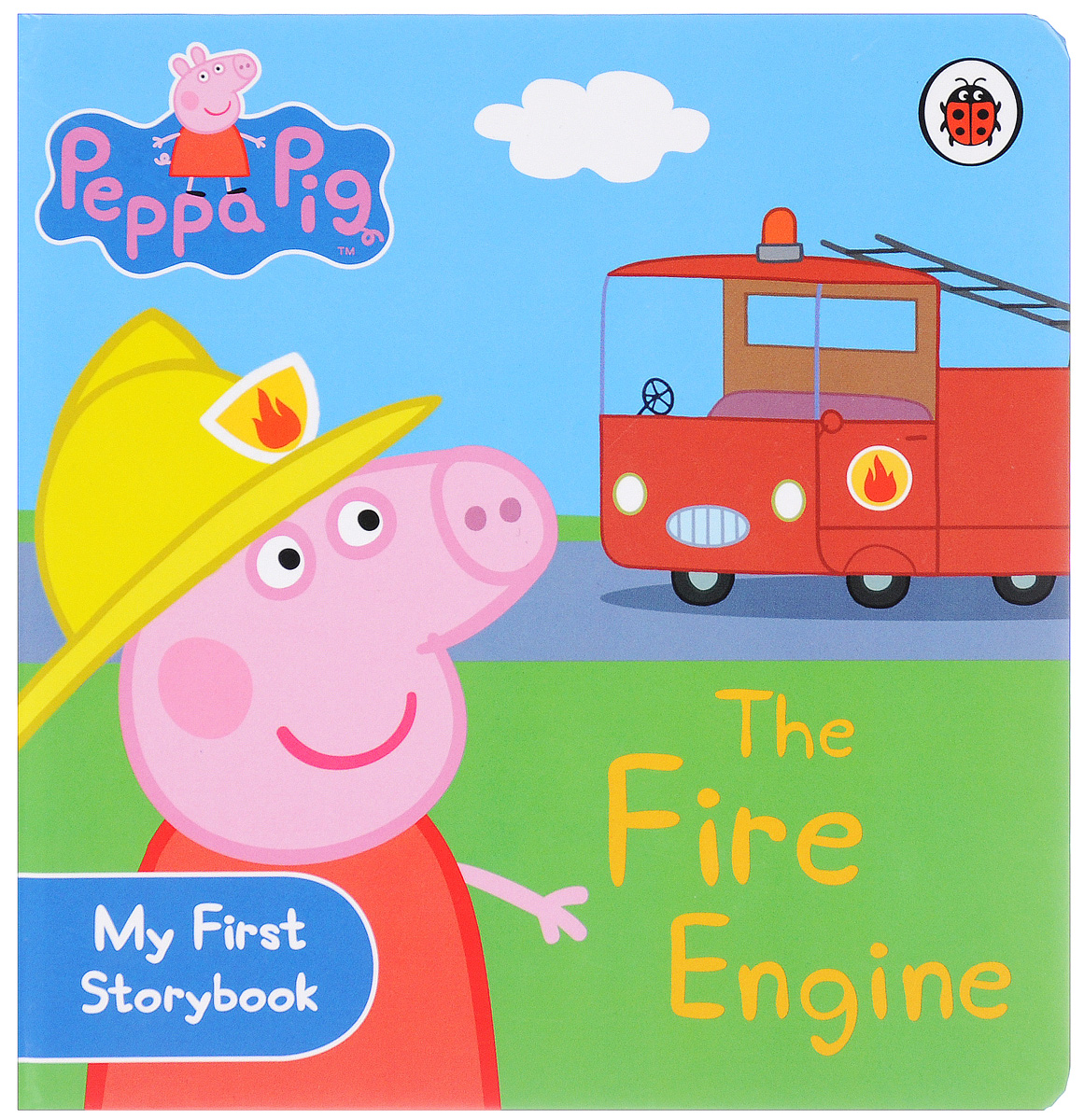 Peppa Pig: The Fire Engine: My First Storybook peppa pig 1000 first words sticker book