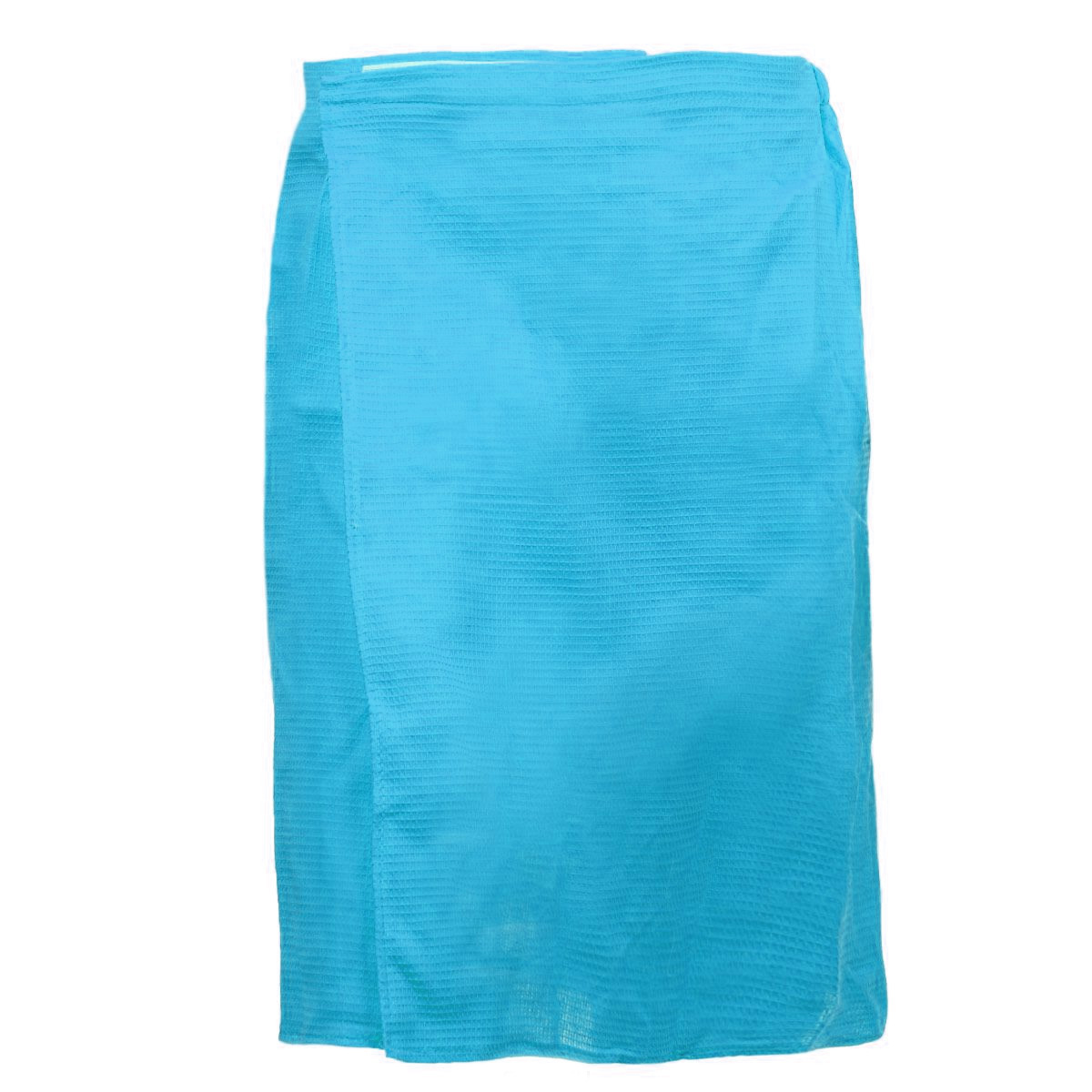 Килт для бани и сауны Банные штучки, мужской, цвет: голубой32060_голубойВафельный килт для бани и сауны Банные штучки, выполненный из натурального хлопка, привлечет внимание любителей модных тенденций в банной одежде.Килт - это многофункциональное полотенце специального покроя с резинкой и застежкой. В парилке можно лежать на нем, после душа вытираться, а во время отдыха использовать как удобную накидку. Длина килта: 60 см.Ширина килта: 145 см.Размер: 36-60.