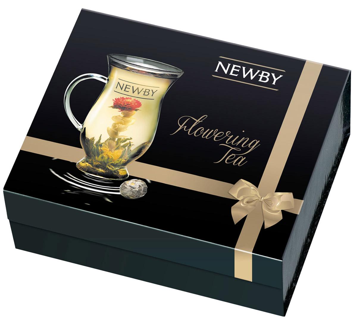 Newby Gift Set Подарочный набор чая (5 вкусов) + чашка93099Коллекция эксклюзивных распускающихся китайских чаев Newby Gift Set, рассчитана на одну персону. Эти маленькие шарики сворачиваются и скрепляются вручную. Для их создания используется душистый китайский чай высшего качества, собранный только в период прайм-тайм.Чай Гармония: чай зеленый байховый с цветками мариголд и жасминаЧай Личи: чай зеленый байховый ароматизированный с ароматом личи, цветы мариголд, амаранта, жасминаЧай Роза: чай зеленый байховый ароматизированный с ароматом розы, цветы амарантаЧай Страсть: чай зеленый байховый с цветками мариголд, жасмина и амарантаЧай Юнион: чай зеленый байховый с цветками мариголд и амаранта