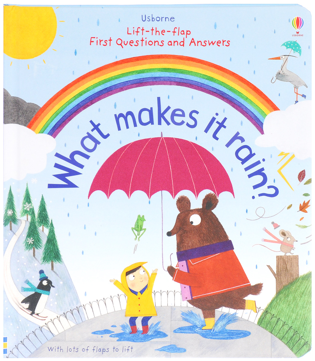 Lift-the-Flap First Questions and Answers: What Make It Rain? supermarket gremlins lift the flaps book