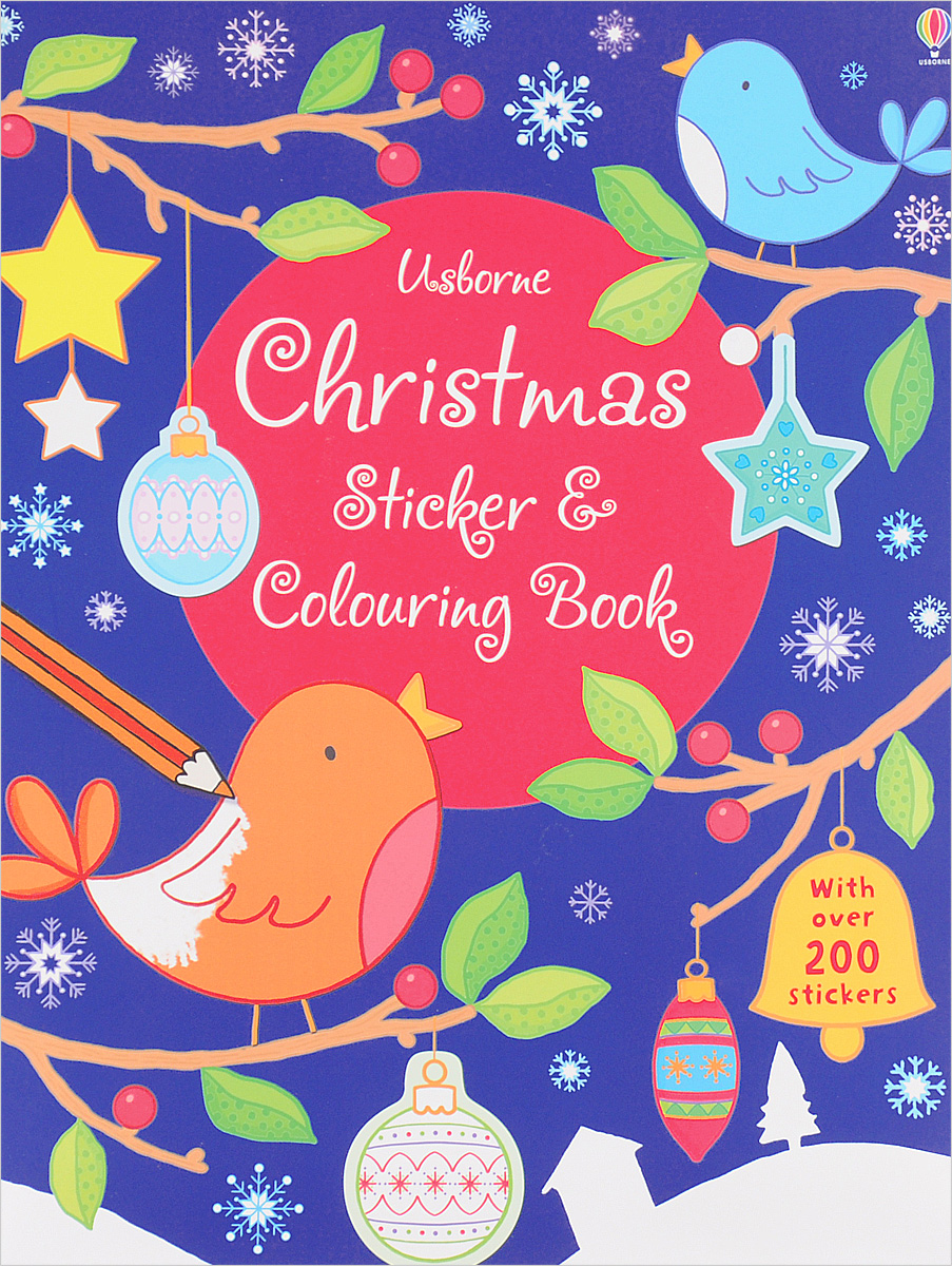 Christmas Sticker & Colouring Book (+ наклейки) die hard the official colouring book