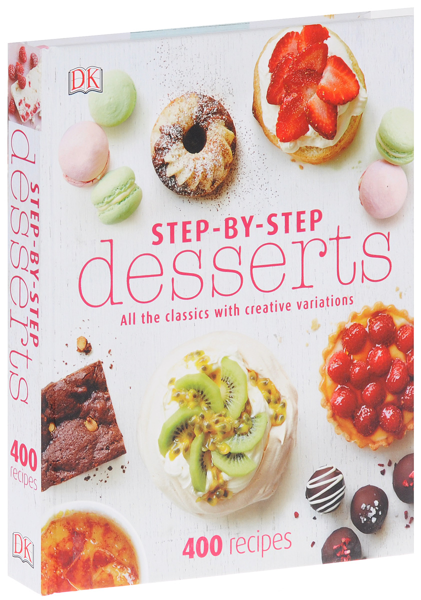 Step-By-Step Desserts unique by step page 6