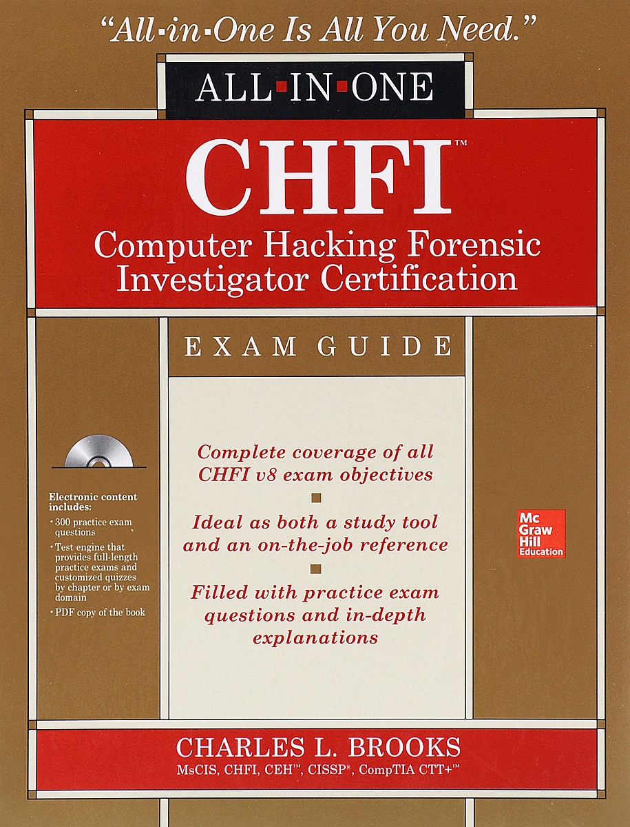 CHFI: Computer Hacking Forensic Investigator Certification: Exam Guide (+ CD) pgmp program management professional all in one exam guide
