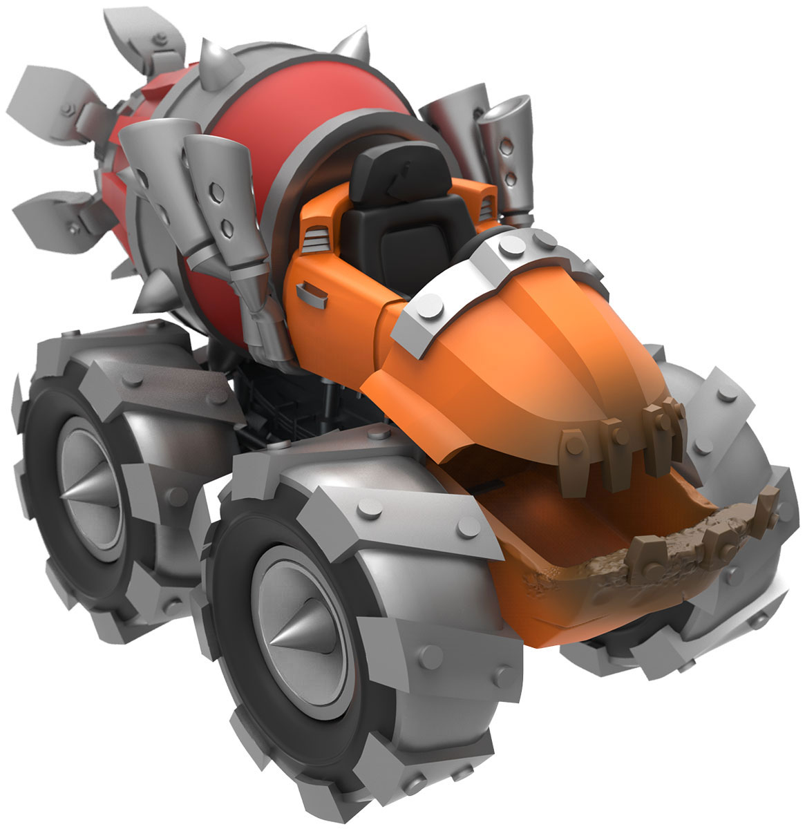 Skylanders SuperChargers. Фигурка машины Thump Truck (Стихия Earth) skylanders superchargers интерактивная фигурка машины shark tank стихия earth