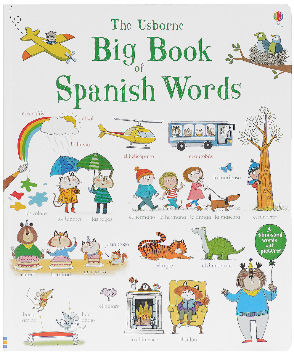 BIG BOOK OF SPANISH WORDS thousand words