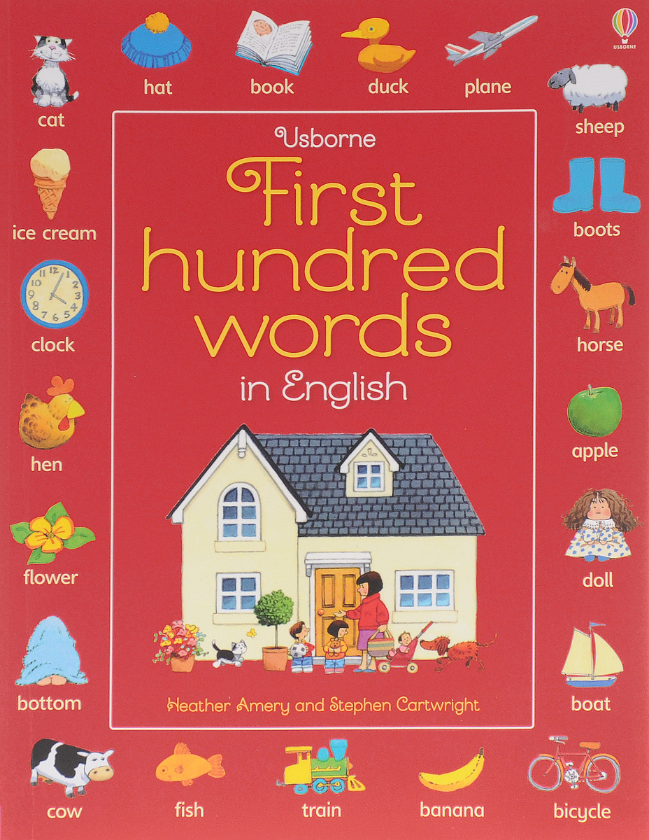 First Hundred Words in English first hundred words in english sticker book
