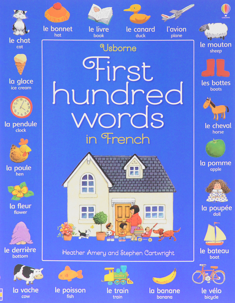 First Hundred Words in French first hundred words in english sticker book