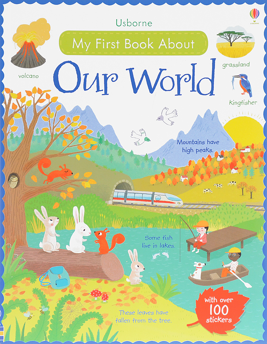 MY FIRST BOOK ABOUT OUR WORLD my first abc sticker activity book