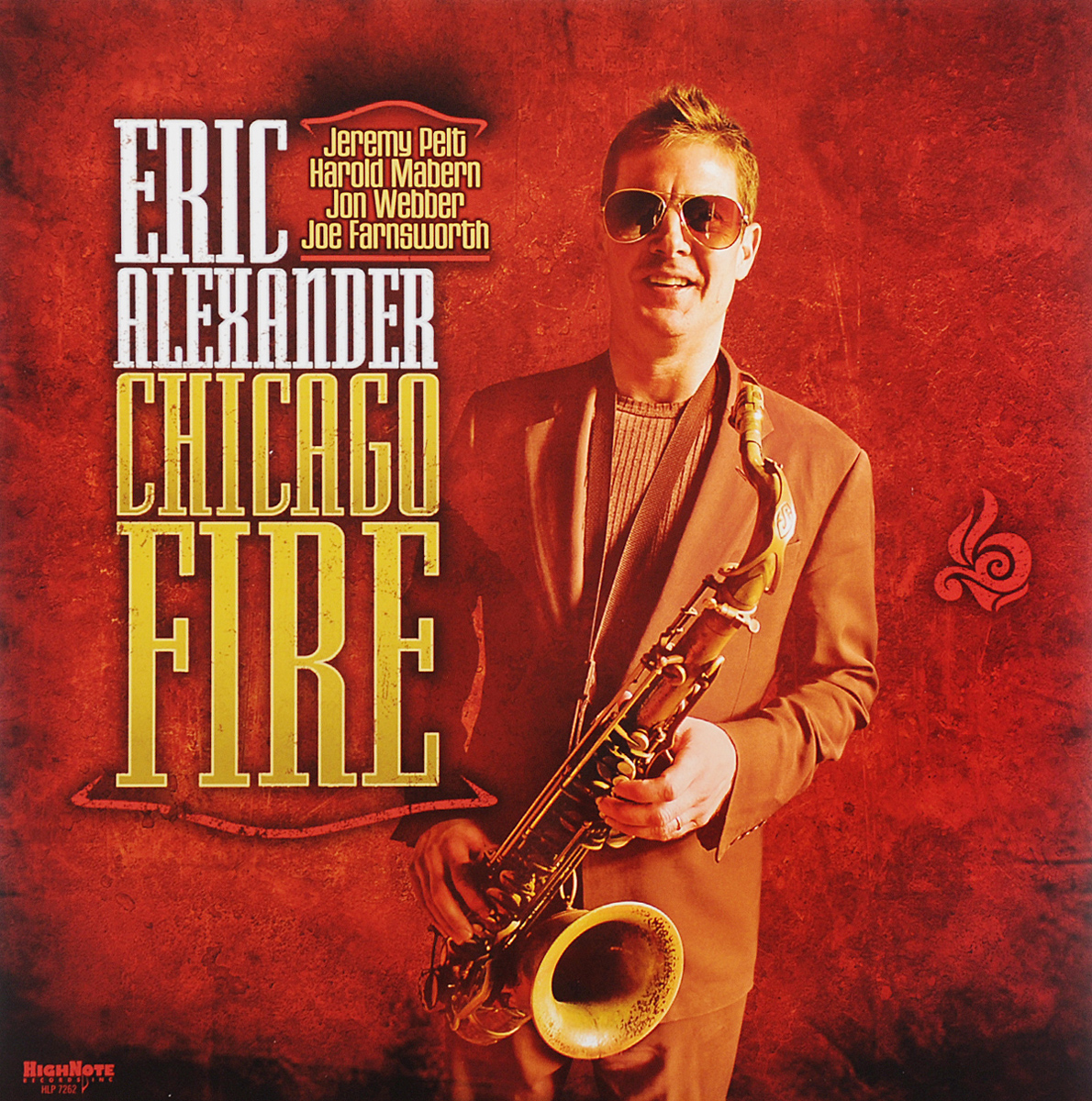 Eric Alexander. Chicago Fire (LP)