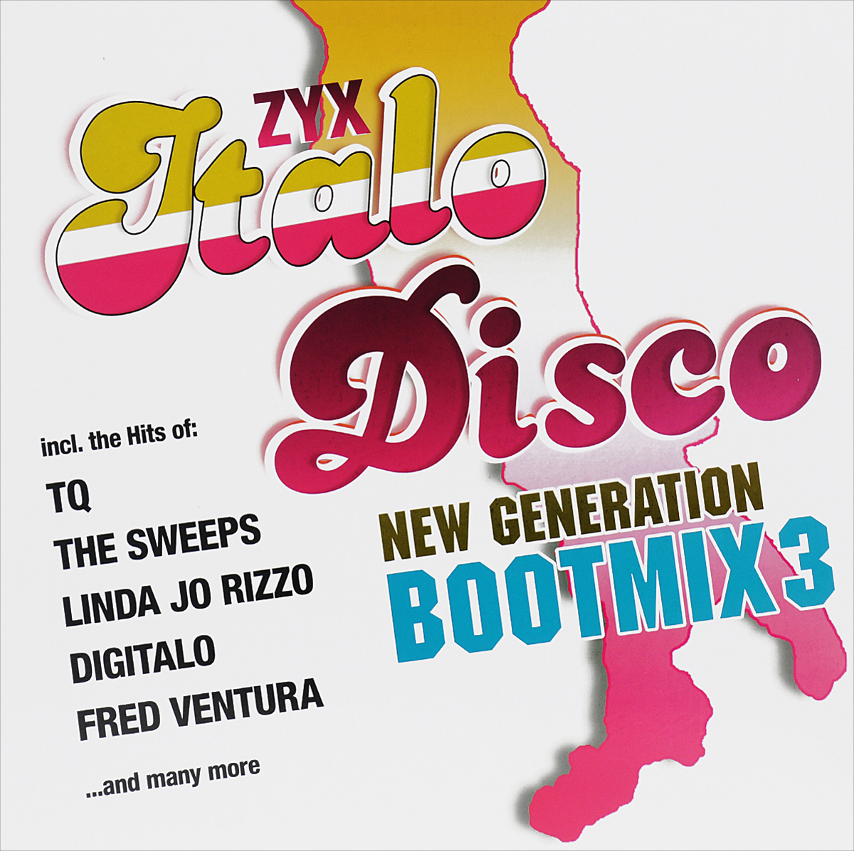 Zyx Italo Disco New Generation Boot Mix 3 (LP)