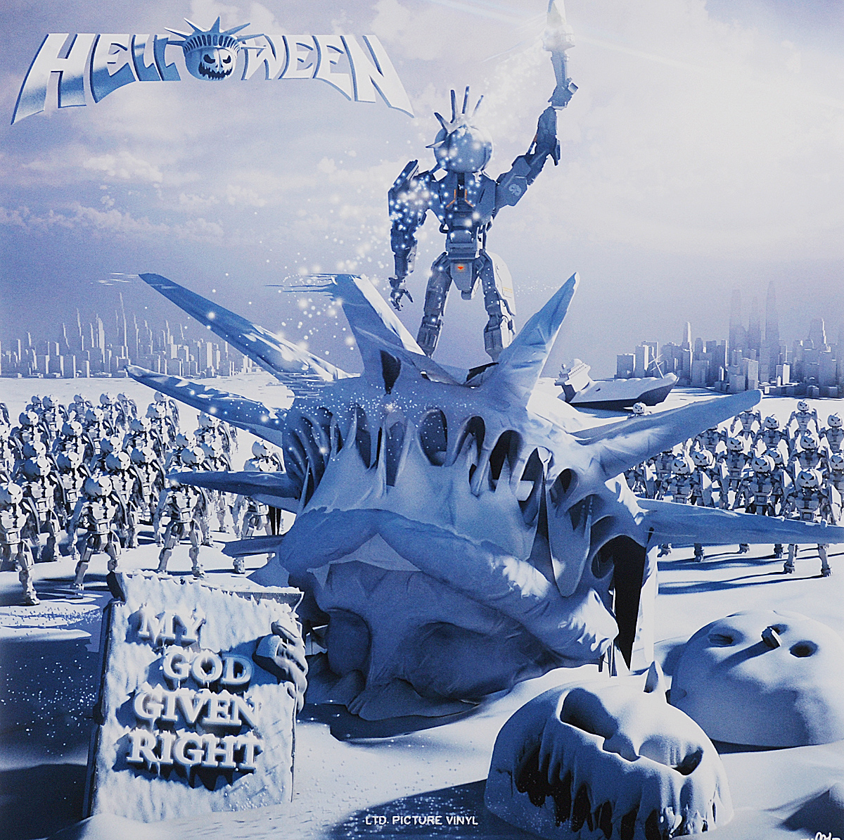 Helloween Helloween. My God-Given Right (2 LP) oh my god it s electro house volume 4