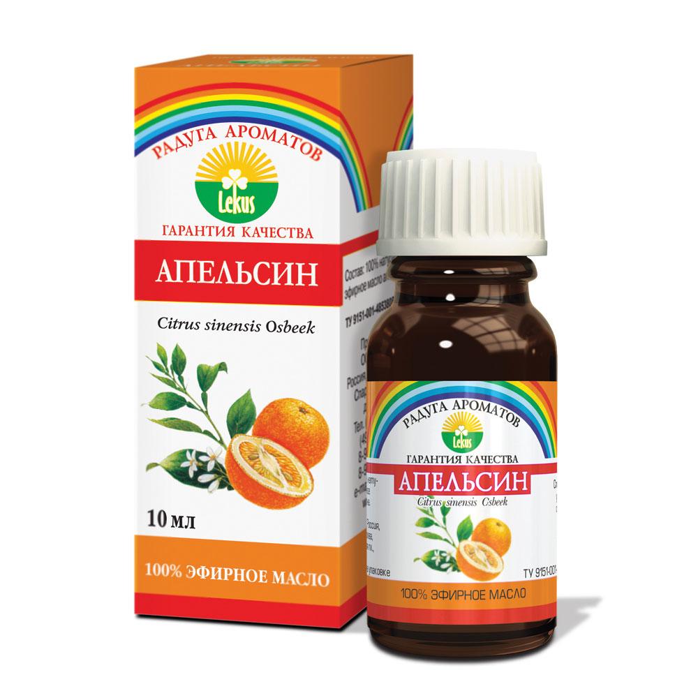 Радуга ароматов Апельсин масло эфирное, 10 мл812Апельсиновое масло успокаивающе воздействует на центральную нервную систему, а при нервном утомлении дает тонизирующий эффект. Служит эмоциональным стабилизатором, снимает ощущение тревоги, депрессивные явления. Является отличным ароматизатором для детской спальни, успокаивает детей с возбудимой психикой и способствует здоровому крепкому сну. Помогает снизить кровяное давление. Оказывает стимулирующее действие на процесс выработки желчи, улучшает переваривание и усвоение жирной еды, усиливает аппетит.Как средство ухода, эфирное масло апельсина великолепно подходит для сухой кожи, в том числе обветренной и склонной к трещинам; результатом является повышение тонуса кожи, улучшение местного кровообращения, сглаживание морщин. Очень успешно борется с целлюлитом.Улучшает усвоение организмом аскорбиновой кислоты (витамина С), что, в свою очередь, укрепляет иммунитет и снижает риск инфекций.Благотворно влияет на остроту зрения.Способы использования эфирного масла апельсина: для массажа – от 7 до10 капель, добавленные в 10мл основы (крем, гель, масло); для принятия ванн – от 5 до 7 капель, добавляя в пену для ванн; для ароматической лампы – 3-5 капель; для ароматизации и обогащения косметики – 5-6 капель.