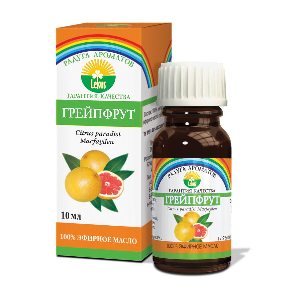 Радуга ароматов Грейпфрут масло эфирное, 10 мл898Бодрящий аромат грейпфрута оказывает стимулирующее и легкое тонизирующее действие, придает бодрость, помогает преодолеть стресс. Повышает сопротивляемость организма инфекционным и простудным заболеваниям. Оказывает болеутоляющее действие и облегчает боли при мигренях.Осветляет жирную кожу, сужает поры, препятствует образованию камедонов. Великолепно питает и укрепляет волосы, восстанавливает естественную секрецию жирных волос.Масло грейпфрута улучшает обмен веществ в организме, уменьшает отеки, снимает мышечные спазмы, эффективное средство при целлюлите и тучности. Дезинфицирует и оздоравливает воздух в жилых помещениях.Формы применения:Массаж: 4-6 капель на 15 г основы, ванны: 4-6 капель, аромалампы: 2-3 капли.