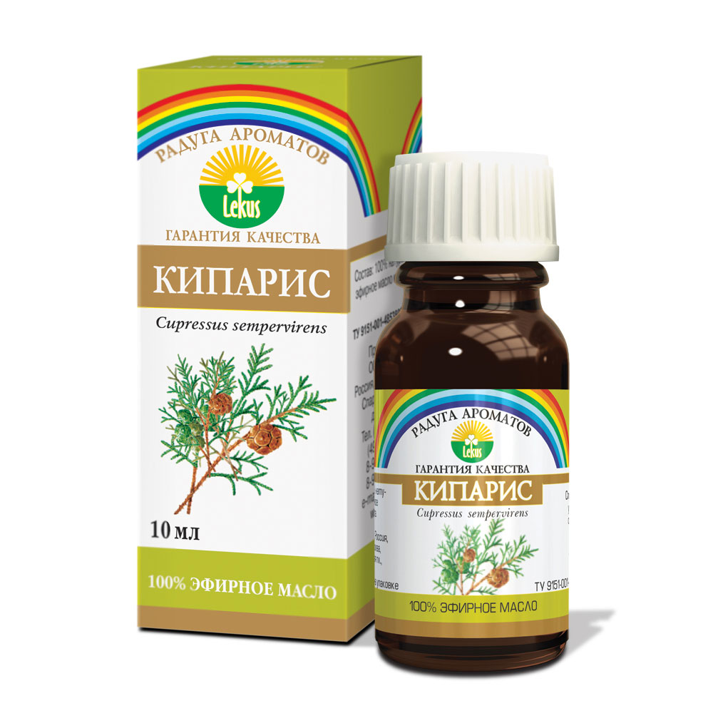 Радуга ароматов Кипарис масло эфирное, 10 мл радуга ароматов кипарис масло эфирное 10 мл