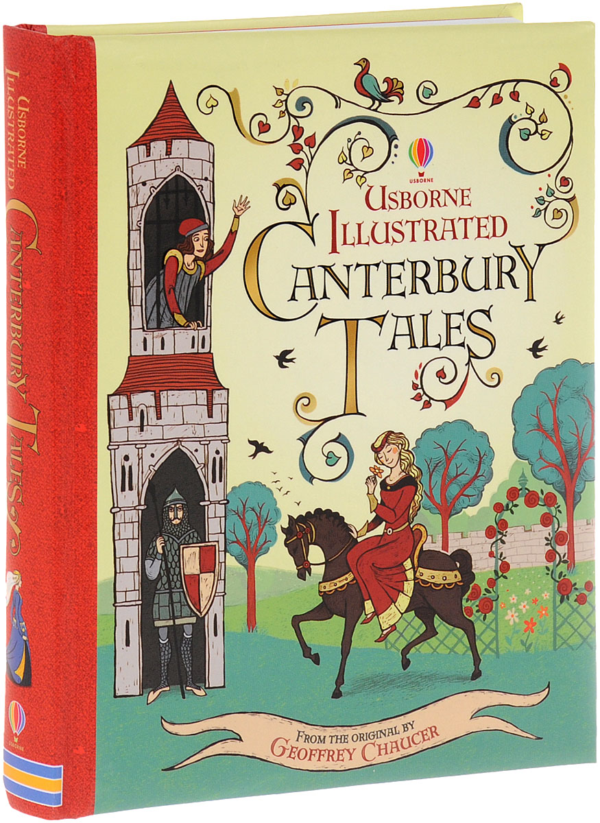 ILLUSTRATED CANTERBURY TALES canterbury tales nce