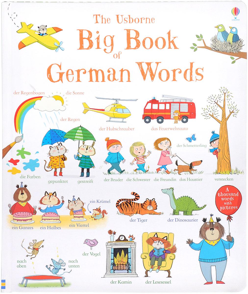The Usborne Big Book of German Words al ko 32см 112725